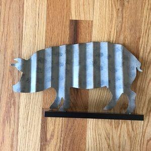 Other - Tin decorative pig.